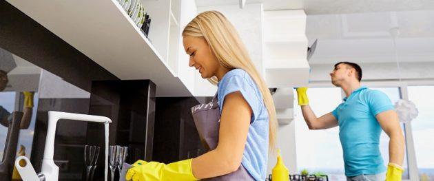 Mycie płytek w domu