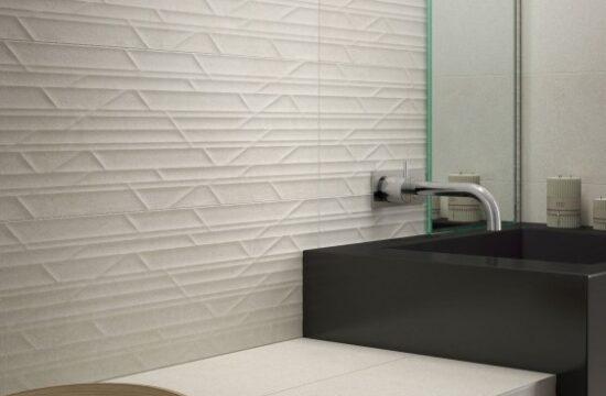 Siła kontrastu biało- czarna łazienka