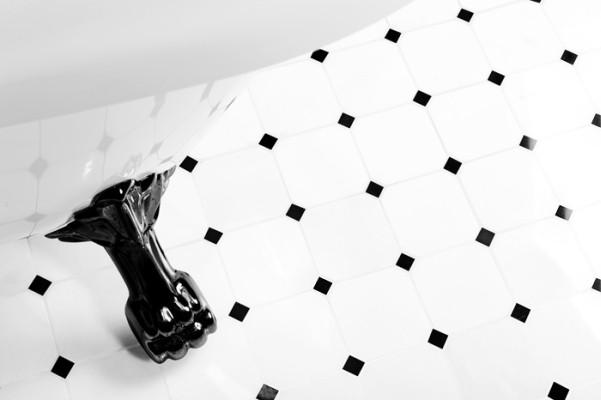 Mozaika w odsłonie czarno białej