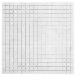 Mozaika Dunin Black&White Pure White 15 30.5x30.5 cm