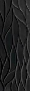 Saloni Fluctus Negro 30x90 cm