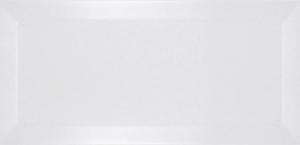 Ribesalbes Bisel Blanco Mate 10x20 cm