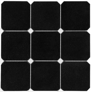 Mozaika Dunin B&W Granite Black Octagon 100, mozaika kamienna 30.5x30.5