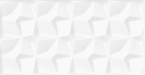 Saloni Nebula Carel Mate Blanco 30x60 cm