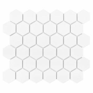 Dunin Hexagonic Hexagon White 51 Matt 32x28 cm