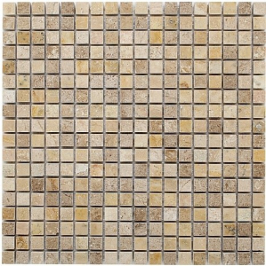 Mozaika Dunin Travertine Cream 15 30.5x30.5 cm