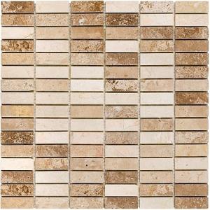 Mozaika Dunin Travertine Block Mix 48 30.5x30.5 cm