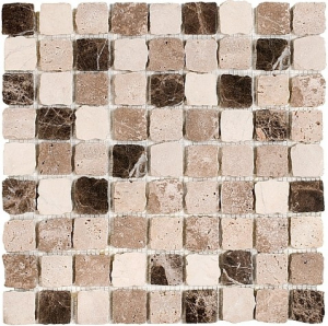 Mozaika Dunin Travertine Bend Mix 32 Matt 30.5x30.5 cm