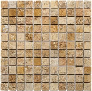Mozaika Dunin Travertine Cream 25 30.5x30.5 cm