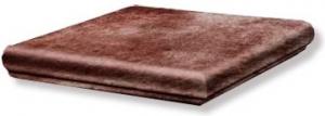 GRES ARAGON Rubino stopnica narożna 33x33 cm