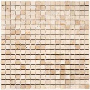 Mozaika Dunin Travertine White 15 30.5x30.5 cm
