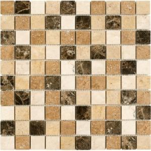 Mozaika Dunin Travertine Mix 32 30.5x30.5 cm