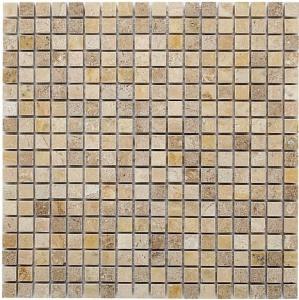 Mozaika Dunin Travertine Cream 15 30.5x30.5 cm