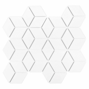 Dunin Arabesco Mini Rombic White 48 30.7 x 26.8 cm