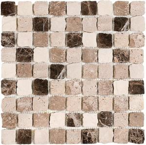 Mozaika Dunin Travertine Bend Mix 32 Matt 30.5x30.5 cm