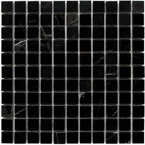 Mozaika Dunin Black&White Pure Black 25 30.5x30.5 cm