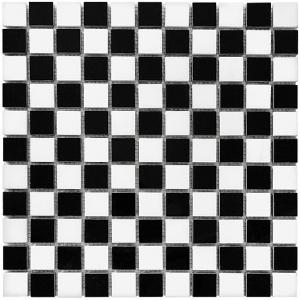 Mozaika Dunin Black&White Pure B&W Mix 25 30.5x30.5 cm