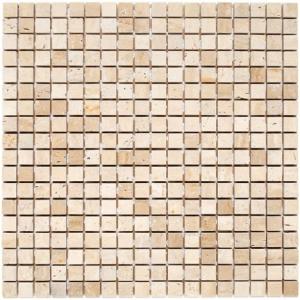Mozaika Dunin Travertine White 15 30.5x30.5 cm