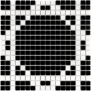 Mozaika Dunin Black&White Pure B&W Radiant 15 30.5x30.5 cm