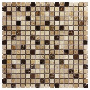 Mozaika Dunin Travertine Cream Mix 15 30.5x30.5 cm
