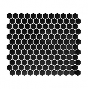 Dunin Mini Hexagon Black 26x30 cm