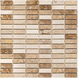 Mozaika Dunin Travertine Block Mix 48 30.5x30.5 cm