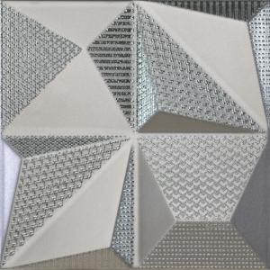 Dune Shapes Multishapes Silver 25x25 cm 187353