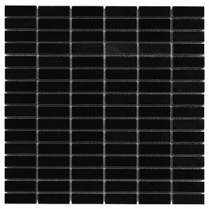 Mozaika Dunin Black&White Pure Black Block 48 30.5x30.5 cm