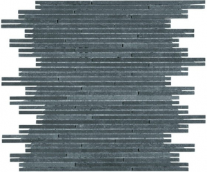 Mozaika Dunin Zen Black Slate Stick 29.8x29.8 cm