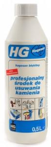 HG HAGESAN BŁĘKITNY ŚRODEK DO USUWANIA KAMIENNEGO OSADU 0.5L