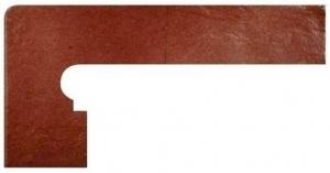 GRES ARAGON Teka cokół stopnicowy lewy 39 x 20 cm