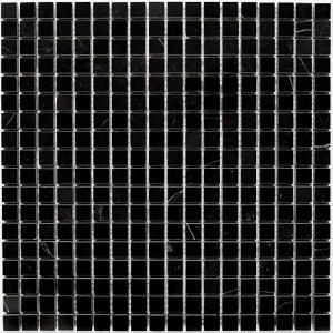 Mozaika Dunin Black&White Pure Black 15 30.5x30.5 cm