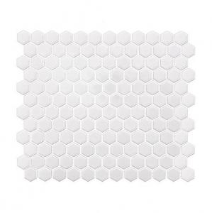 Dunin Mini Hexagon White 26x30 cm