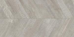 Ibero Artwood Chevron Grey Rect. 60x120 cm