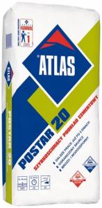Atlas Postar 20 szybkoschnący podkład cementowy 25 kg