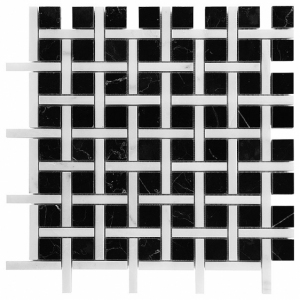 Mozaika Dunin Black&White Pure BW02 30.5x30.5 cm