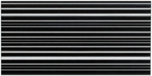 Dunin 3D Mazu Silver Strip 60x30 cm